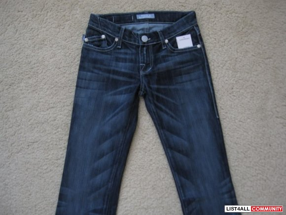 Rock & Republic Jagger in Steel Wash with Slayer Pockets - Size 26