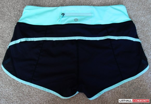 LULULEMON Run: Speed Short Athletic Gym Yoga Running Shorts 4