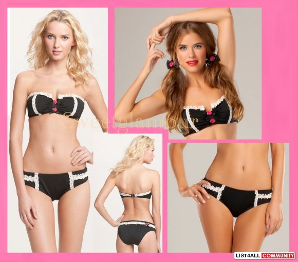 Betsey Johnson Lace is More Bandeau Bikini as seen on Bachelorette!