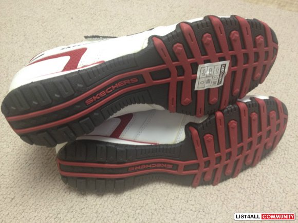 SKECHERS Bikers-Spokes Athletic Running Shoes Women's 8 NEW!