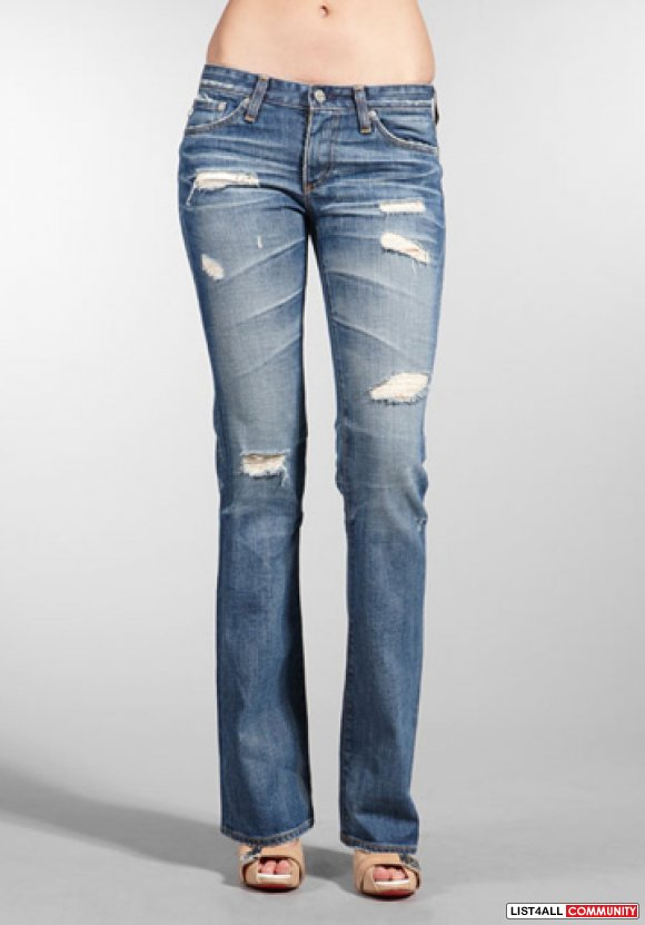 AG Adriano Goldschmied ANGEL '18 Years Damaged' Jeans 28/27