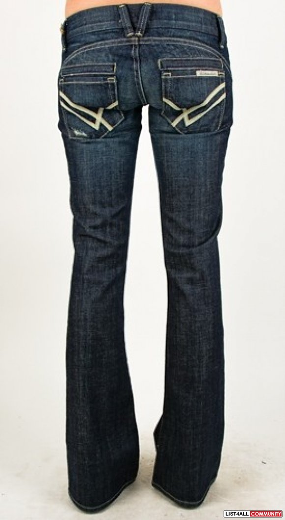 WILLIAM RAST Savoy Ultra Low Rise DUSK Wash Jeans Women's 27