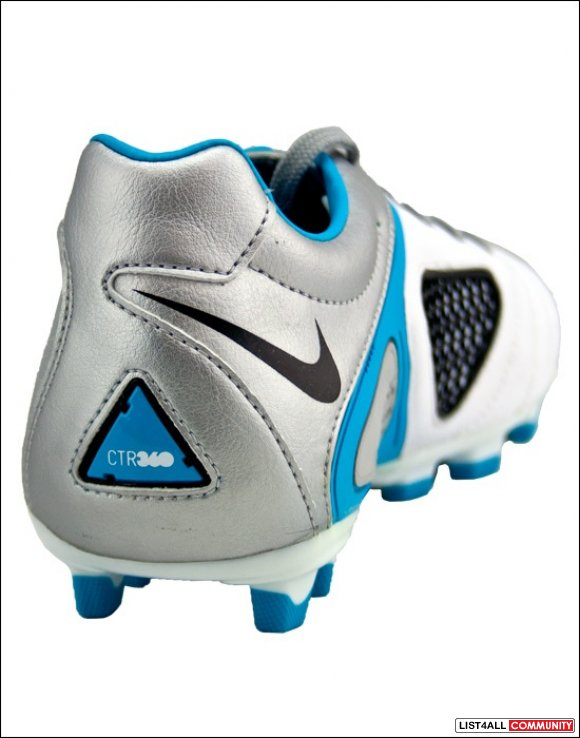 NIKE CTR360 Libretto White Leather Soccer Cleats/Shoes Women's 8