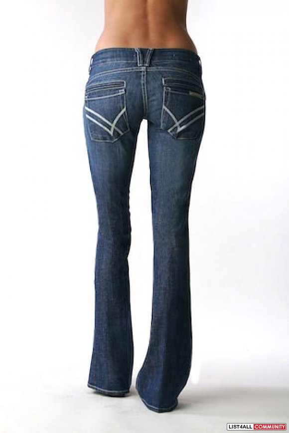 WILLIAM RAST Savoy Low Rise Jeans in Crème Brulee Womens 26/27