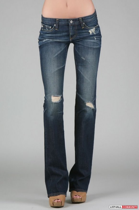 Adriano Goldschmied The Angel Bootcut AG-ed '7 Years Damaged' Jeans 27