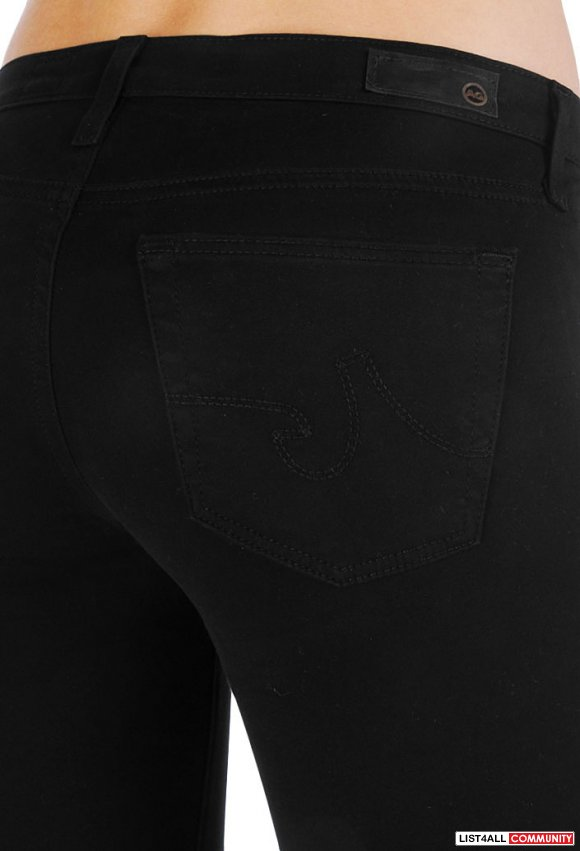 AG Adriano Goldschmied 'The Ballad' Slim Boot Black Pants Womens 27/26