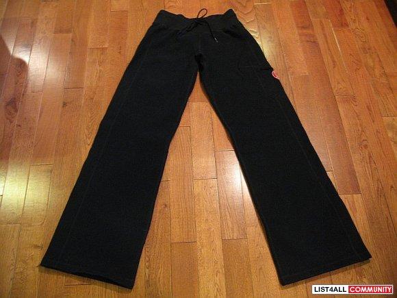 Lululemon Thick Black Cuddle Sweats Pants Sweatpants