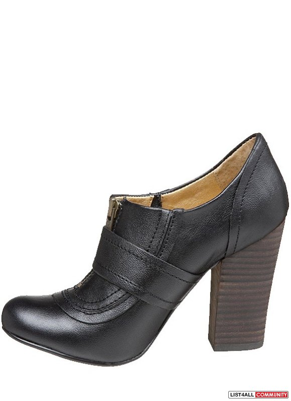 "SEYCHELLES Spectacle Leather 3.5"" Heel Ankle Booties/Shoes 8.5"