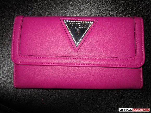 *BRAND NEW GUESS Slim Wallet