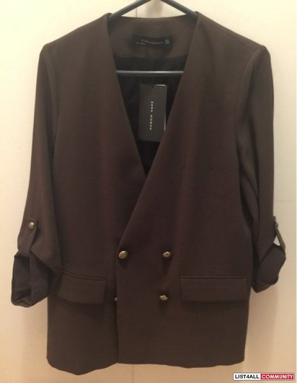 Zara Dark Green Blazer