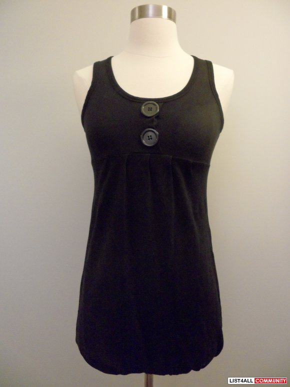 aritzia - kit for cloth black tunic