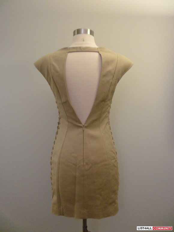 mackage collection - beige dress