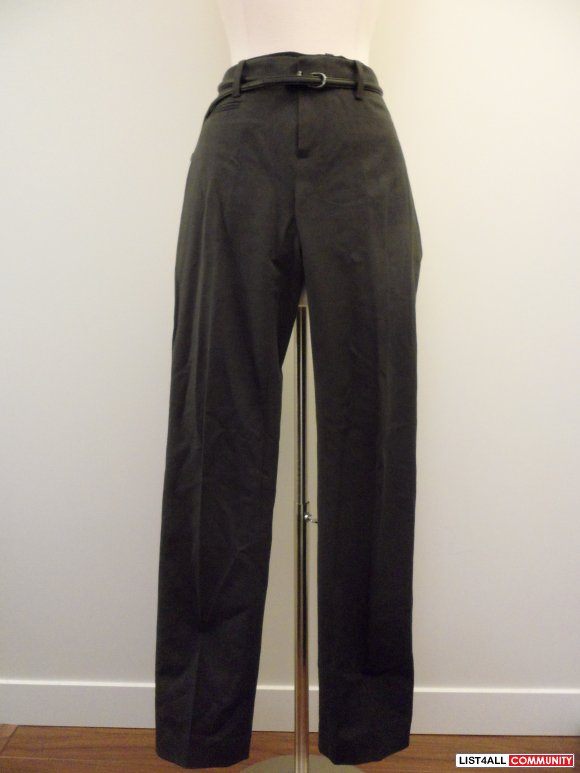 "gap - dark grey ""true straight"" pants"