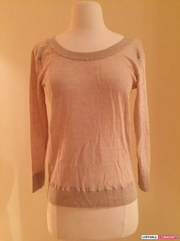 Club Monaco beige sweater