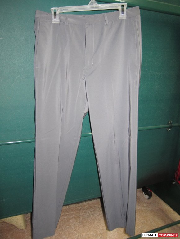 $20- Kenneth Cole grey pants