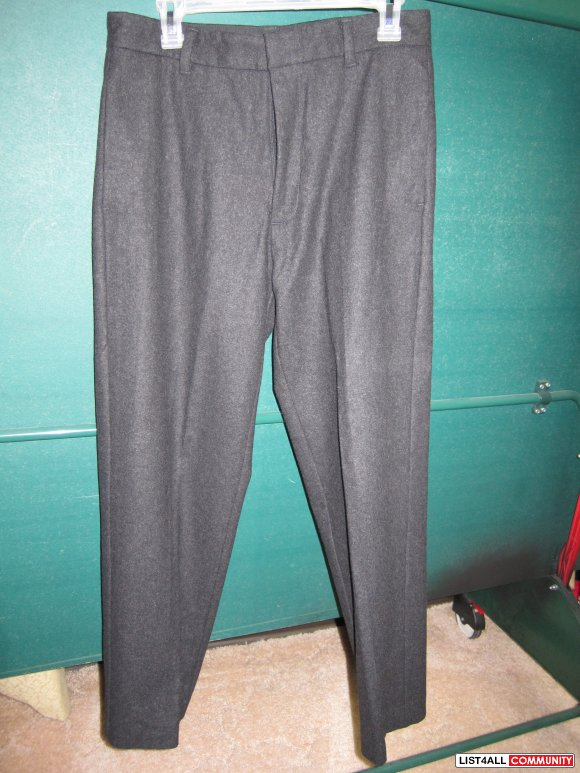 $20- Banana Republic black wool pants