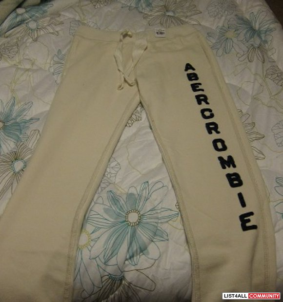 Brand new with tags Abercrombie & Fitch sweatpants