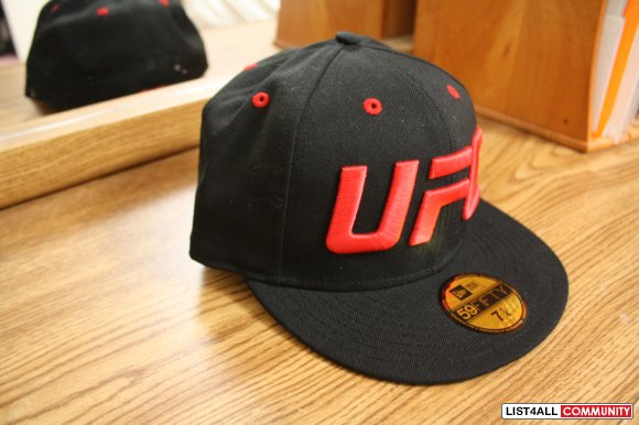 Hats: UFC New Era fitted