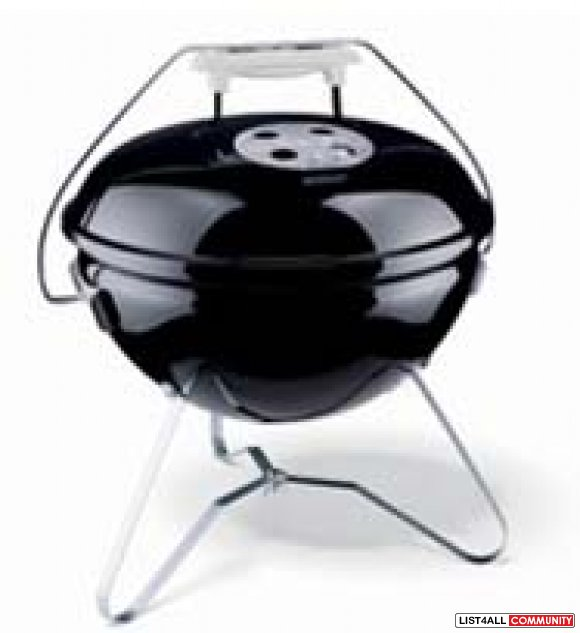 Weber Gold portable charcoal BBQ