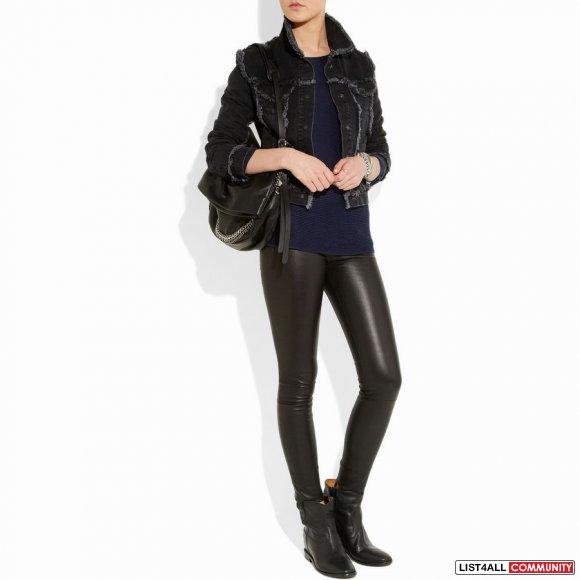 55 off isabel marant crisi suede concealed wedge biker boots fashionkk list4all. Black Bedroom Furniture Sets. Home Design Ideas