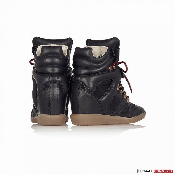 50% OFF! Isabel Marant Etoile Buck Wedge Sneakers