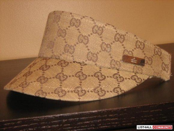 Gucci Visor Hat - Hat HD Image Ukjugs.Org c9e08d56c99