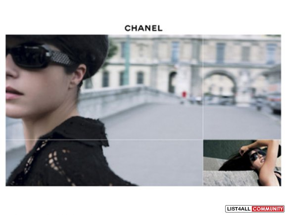 Authentic Chanel Sunglasses, featured in Chanel Ad