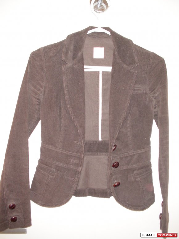 T barbarton Jacket  dark brown Size :XXS