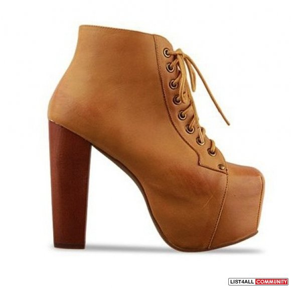 jeffrey cbell lita style inspired boots camel brown