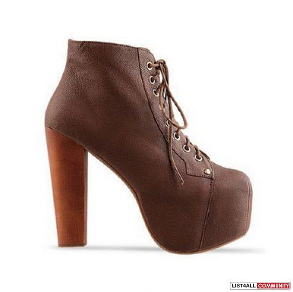 jeffrey cbell lita style inspired boots brown lita