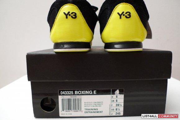 NEW Adidas Yohji Yamamoto Y 3 Size 6.5 Mens Classic Boxing