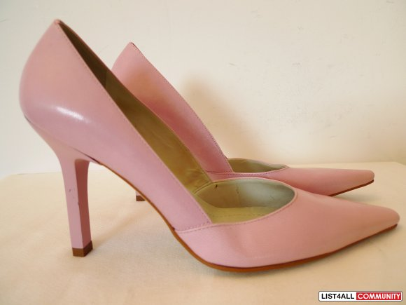 201b4b62b0fa NEW Paolo Corelli Women s Pink Pumps Shoes Size 6.5 ...