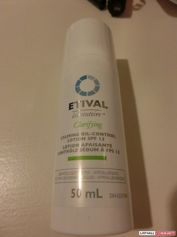 Etival Clarifying Calming Oil-Control Lotion