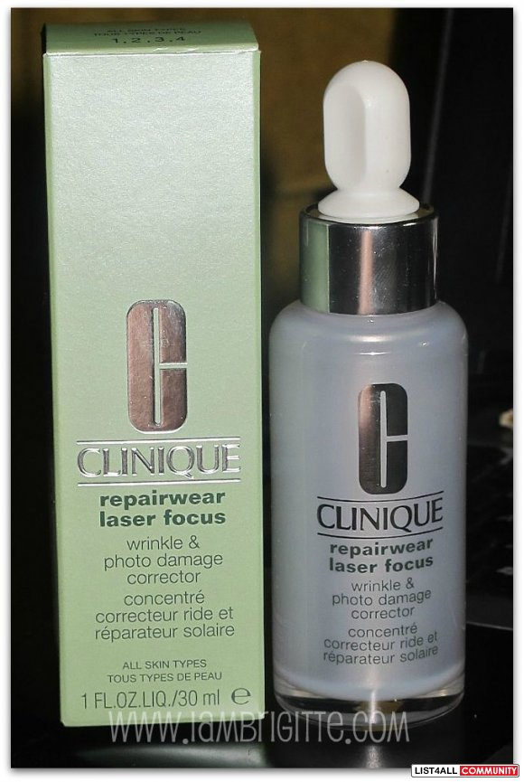 Clinique Repairwear Laser Focus (Wrinkle & Photo Damage Corrector)