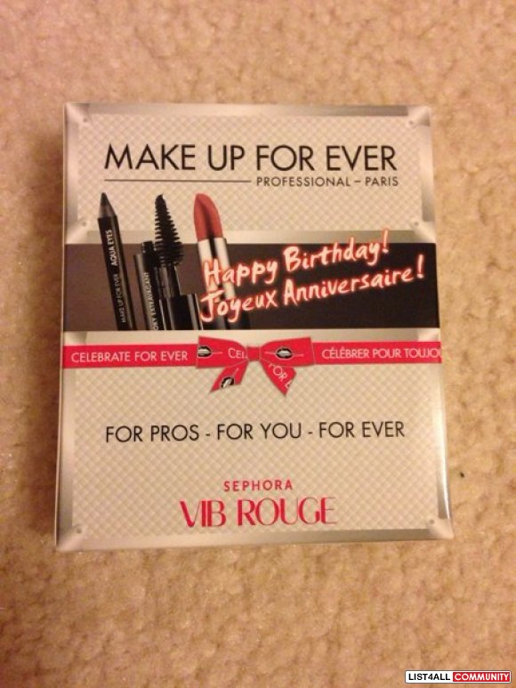 Sephora VIB Rouge Birthday Kit