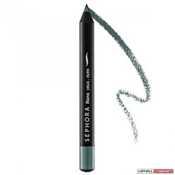 Sephora Nano Eye Pencil in Silver Green