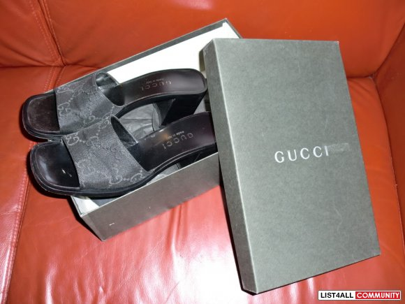 Authentic Gucci Monogram Guccissima Baby Purple Sandal Made in Italy