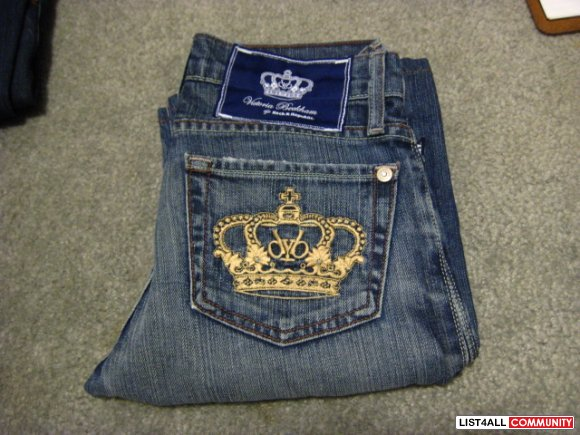 Size 24 Rock and Republic Victoria Beckham Jeans