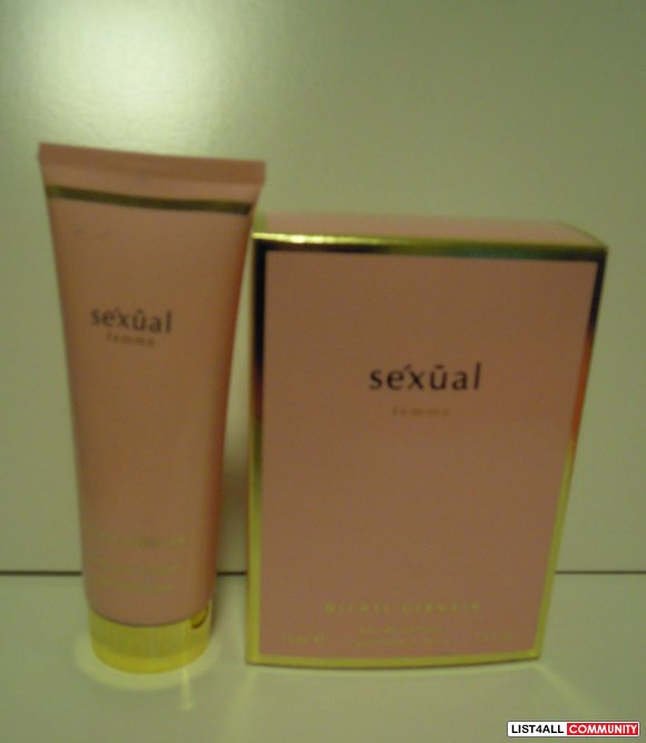 Sexual femme perfume by Michel Germain 75mL + body lotion 100mL SET