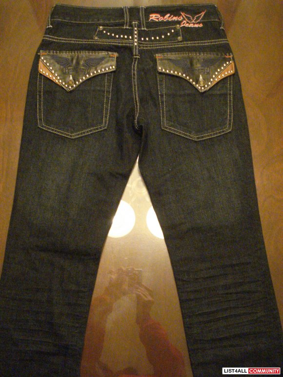 ROBINS JEANS SIZE 30 IN PERFECT CONDITION - $80 OBO