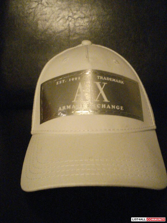 ARMANI EXCHANGE FASHION CAPS - $10