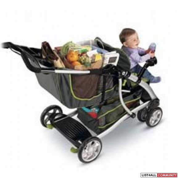Fisher Price Stand N Ride Duo Stroller Shesarealkeeper