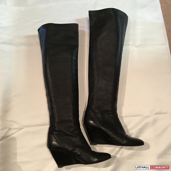 Giuseppe Zanotti Over the knee boots , wedge heel  Size 38