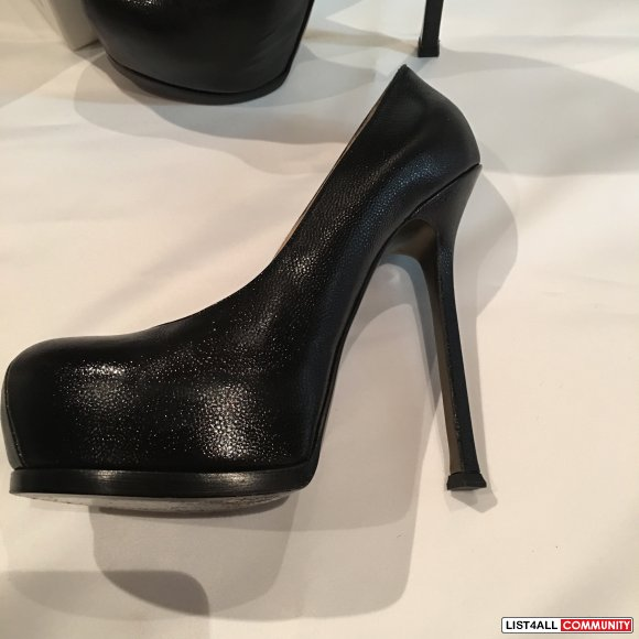 Yves Saint Laurent Tribute Pumps Size 38 (fit more like a 37.5)