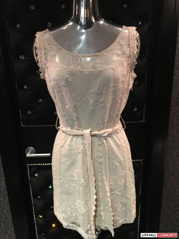 Betsey Johnson Lace Dress Size 10 (would also fit size 8)