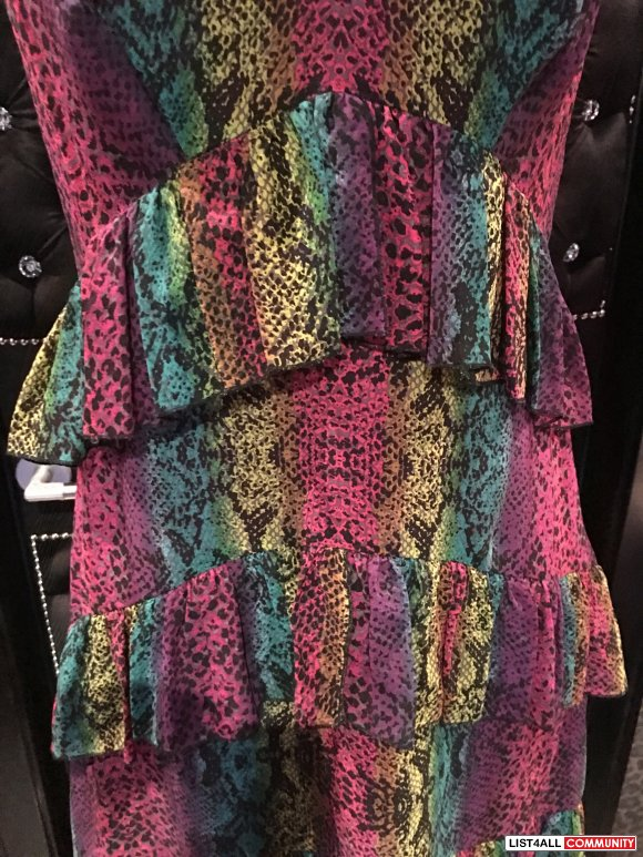 Betsey Johnson Sik Dress Size 10 (does fit more like an 8)