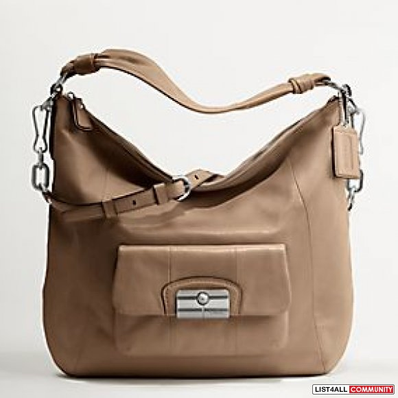 Coach Kristin Leather Hobo