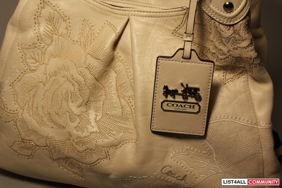 VERY RARE Leather Coach Bag!