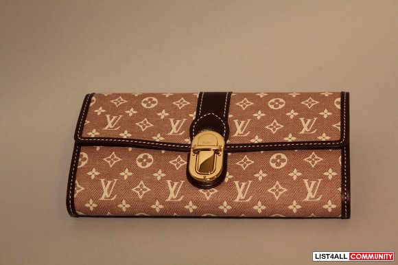 Louis Vuitton Sarah Monogram Idylle Wallet