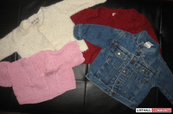 12-18 mth sweaters $2 each